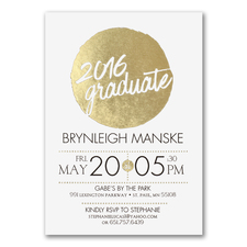Milestone Dot - Graduation Announcement